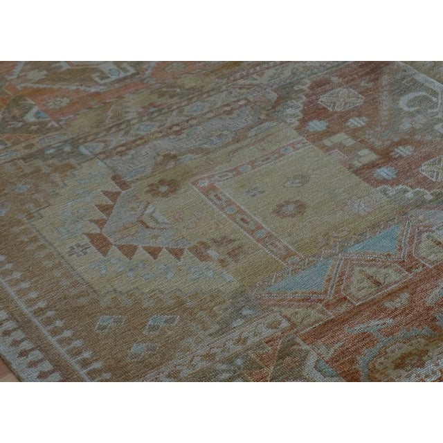 Boho Chic Indo Handmade Patchwork Rug - 8' x 10' For Sale - Image 3 of 6