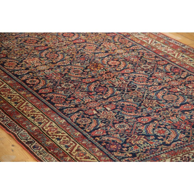 "Antique Malayer Rug Runner - 5'2"" X 9'9"" - Image 3 of 10"