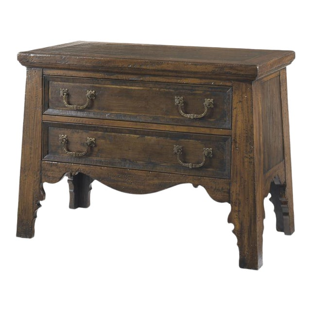 Century Furniture Tribeca Demilune Nightstand For Sale