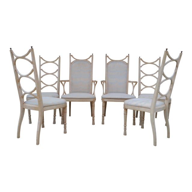 Tomlinson Pavane Mid-Century Dining Chairs - Set of 6 - Image 1 of 8
