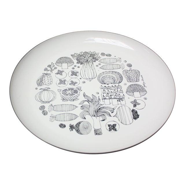 Georges Briard Enamel Fruit / Vegetable Plate For Sale
