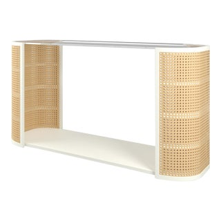 Lola Console Table - Simply White For Sale