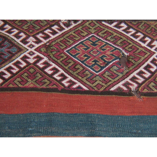 Antique Anatolian Kilim, Grain Sack For Sale In New York - Image 6 of 8
