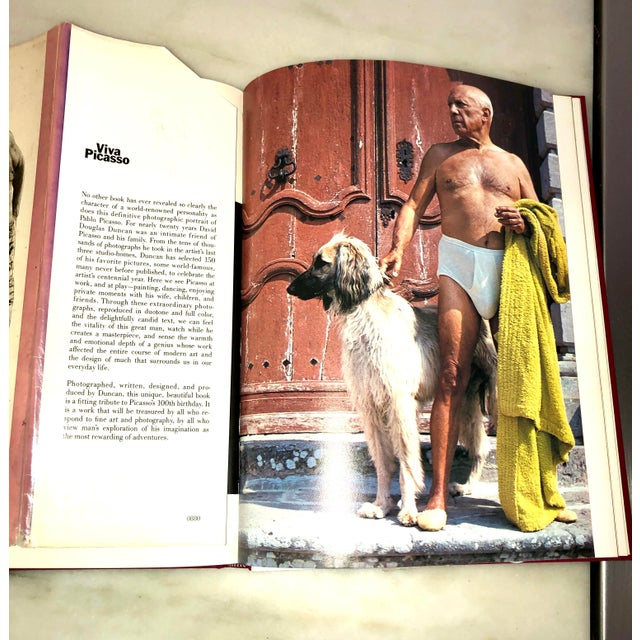 """Vintage 1980 """"Viva Picasso"""" Coffee Table Studio Book For Sale - Image 10 of 13"""