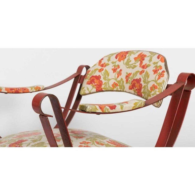 20th Century Boho Chic Savonarola Style Chairs - a Pair For Sale - Image 4 of 6