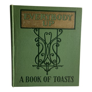 1909 Everybody Up Book of Toasts For Sale