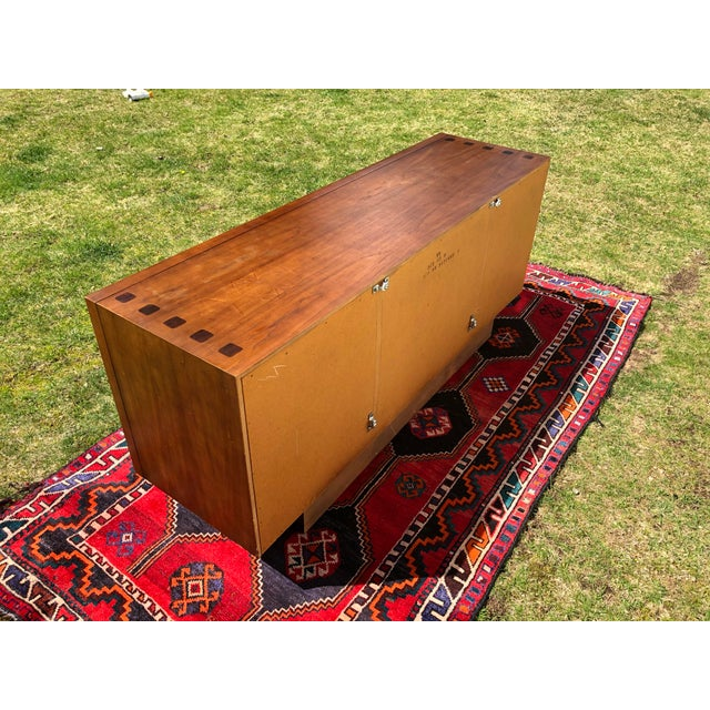 1970s Mid Century Lane 'Tower Collection' Rosewood Credenza For Sale - Image 10 of 13