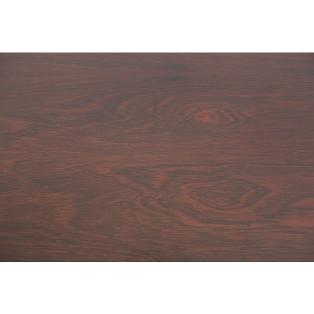 Rosewood Rosewood + Walnut Dunbar Credenza For Sale - Image 7 of 7