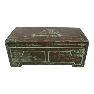 Arts & Crafts Style Wood Box For Sale