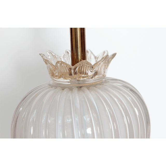 MURANO PEAR FORM TABLE LAMP - Image 7 of 10