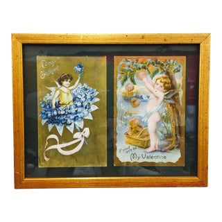 Antique Framed Valentines For Sale
