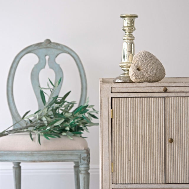 Pair of Lotta Gustavian Style Nightstands For Sale - Image 11 of 13