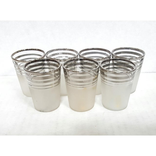 1930's Art Deco Barware Glass Set Manufacturer: Unknown/Unmarked Year: 1930's Condition/Info: Very Good. A few glasses...