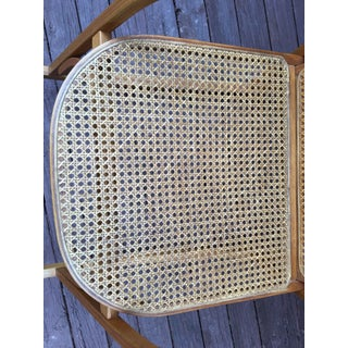 1980s Vintage Vermont Tubbs, Forest Dale Vermont Caned Rocking Chair Preview