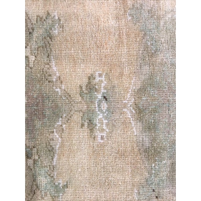 Turkish Oushak Rug - 5′ × 10′4″ - Image 5 of 8