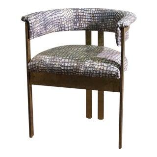 Brass Side Chair