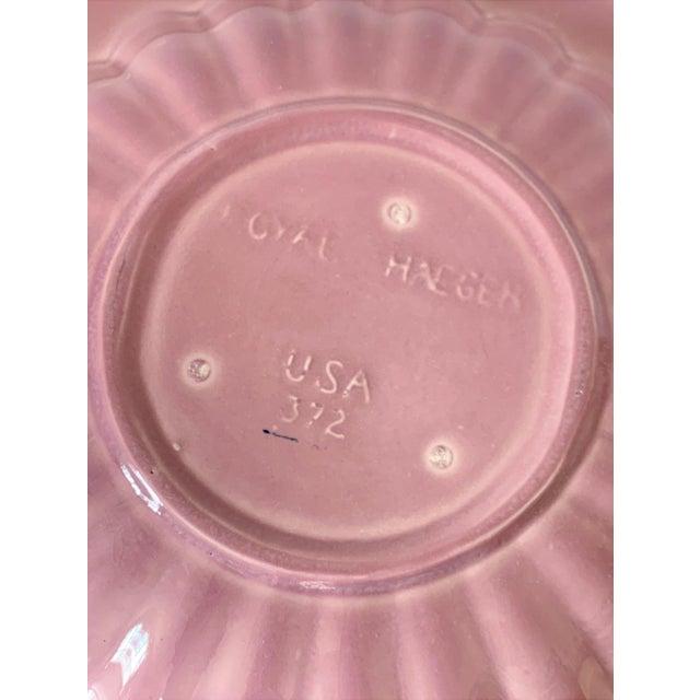 Ceramic Vintage Haeger Marbled Serving Platter For Sale - Image 7 of 8
