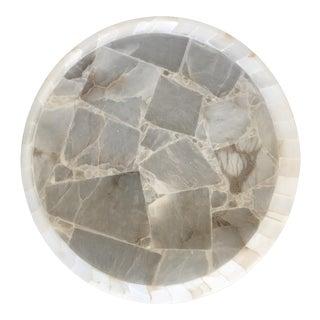 Round Stone Serving Tray
