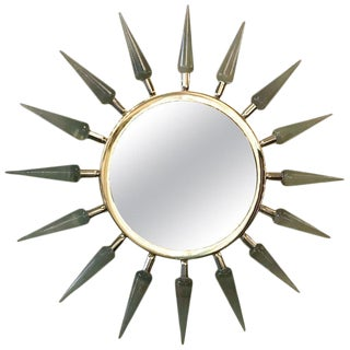 Sunburst Mirror by Fabio Ltd (2 Available) For Sale