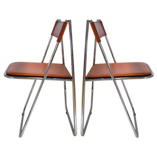 Tamara Folding Chairs by Arrben- A Pair For Sale