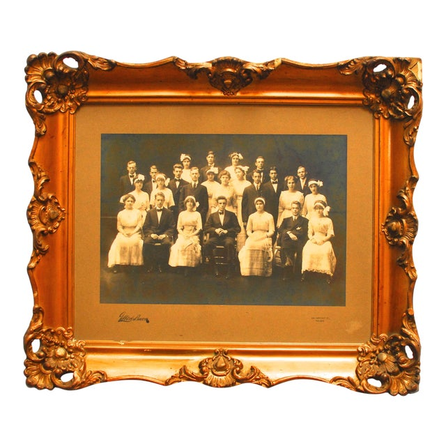 Original Gilbert & Bacon Group Photo For Sale