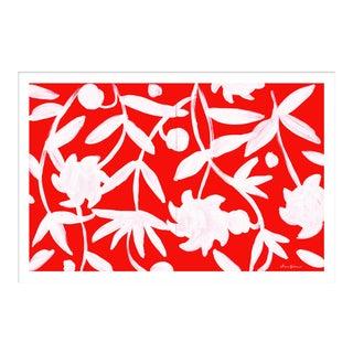 """Winnetka in Coral"" By Dana Gibson, Framed Art Print For Sale"