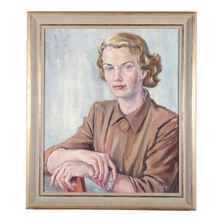 Portrait of Woman Oil Painting