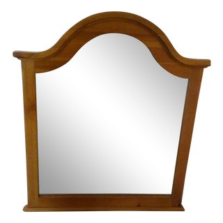 Contemporary Solid Pine Dressing Mirror For Sale