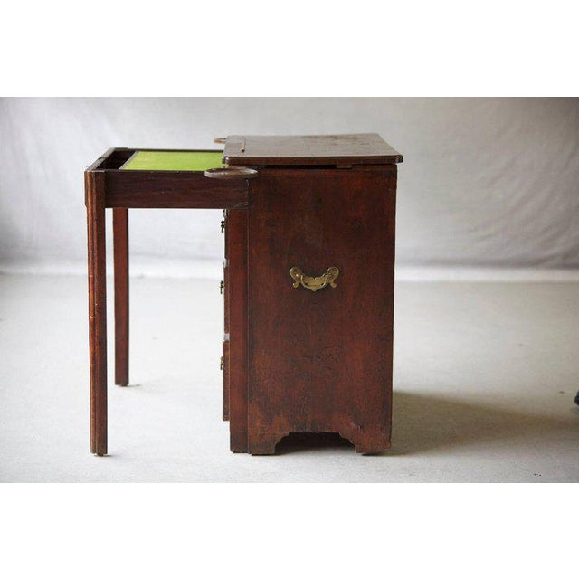 Important Queen Anne Walnut Architect's Chest, Circa 1710 For Sale - Image 9 of 10