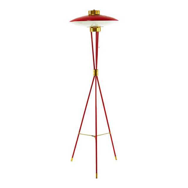 Stilnovo a Tripod Floor Lamp From the 50s. For Sale
