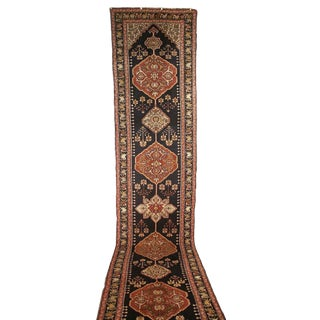 Karabagh Runner Rug - 4′2″ × 19′6″ For Sale