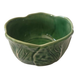 2000s Portuguese Bordallo Pinheiro Bowl For Sale