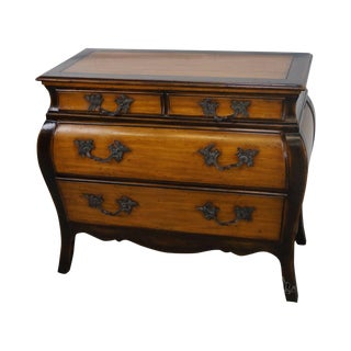 Theodore Alexander Chateau Du Vallois French Louis XV Style Bombe Chest For Sale