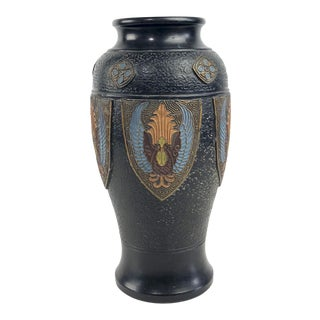 Japanese Hand Painted Art Pottery Vase