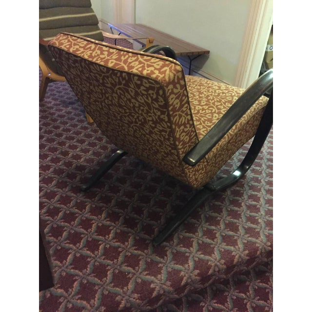 "Jindrich Halabala Art Deco ""H269"" Chair - Image 5 of 5"