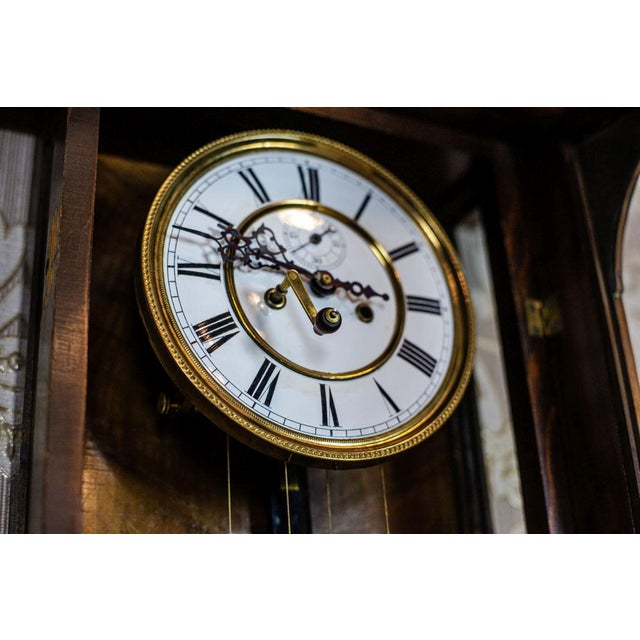 19th-Century Wall Clock For Sale - Image 11 of 13