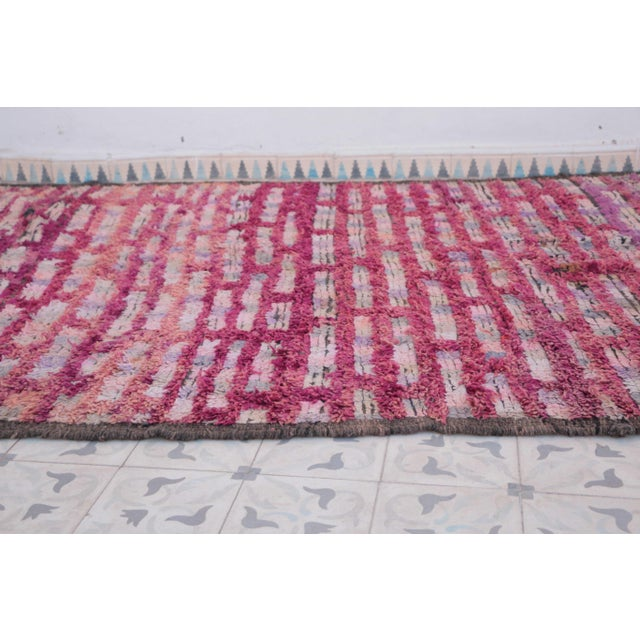 "Boujad Vintage Moroccan Rug, 5'10"" x 8'8"" feet / 177 x 263 cm - Image 4 of 6"