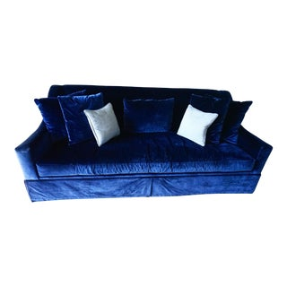 Pearson Silk Velvet Sofa For Sale
