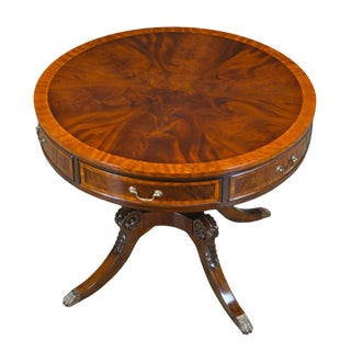 Traditional Round Center Table For Sale