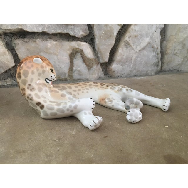 1950's Leopard Figure Hollywood Regency For Sale In Palm Springs - Image 6 of 7