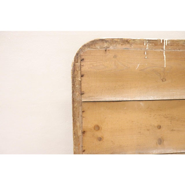 19th Century Italian Golden and Silver Wood Antique Wall Mirror For Sale - Image 11 of 13