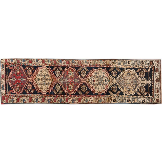 "Vintage Apadana Persian Rug - 2'8"" X 10'1"" For Sale"