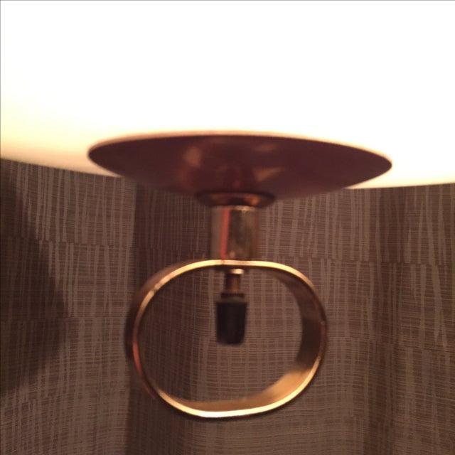 Mid-Century Atomic Copper Pendant - Image 4 of 9