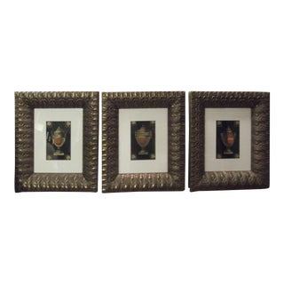 20th Century Neoclassical Prints With Egyptian Revival Frames - Set of 3