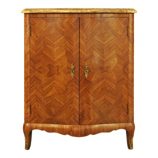 Louis XV Style Corner Cabinet For Sale
