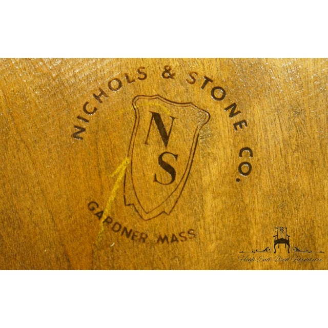 Nichols & Stone Gardener MA Old Pine Side Chair For Sale - Image 12 of 13