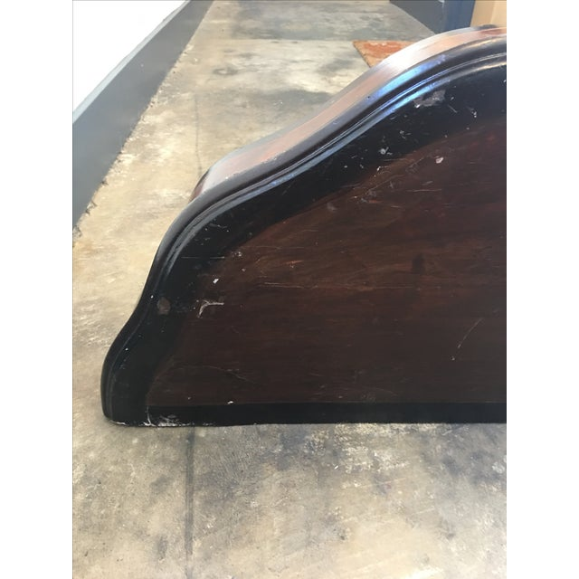 Antique Entryway Wall Table - Image 5 of 11