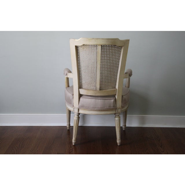 Antique French Caned Chair - Image 5 of 8