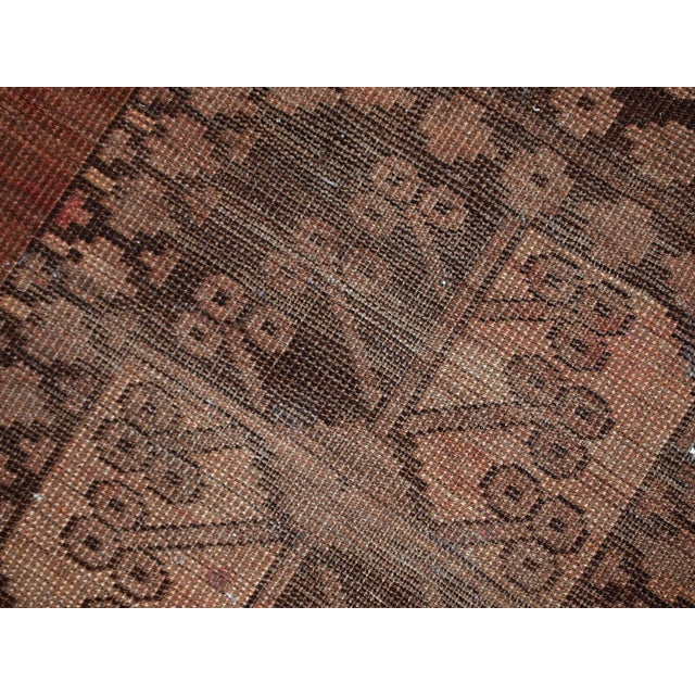 1900s handmade antique Afghan Ersari rug 8.6' X 11.8' For Sale - Image 10 of 13