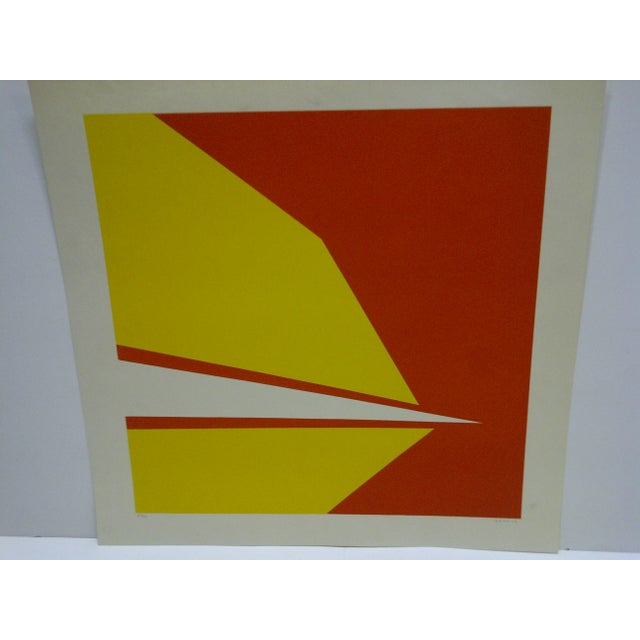 """American Limited Numbered (23/25) Signed Print """"Point"""" by Garrick For Sale - Image 3 of 5"""
